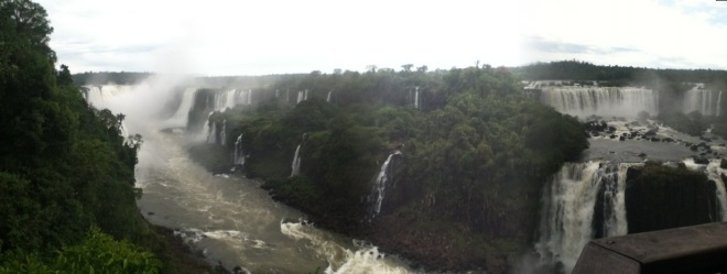 El río Iguazú