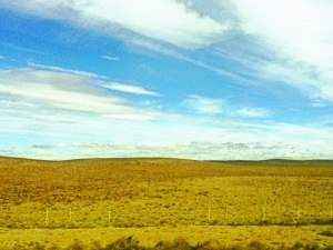 Este paisaje nos acompañó casi todo el camino