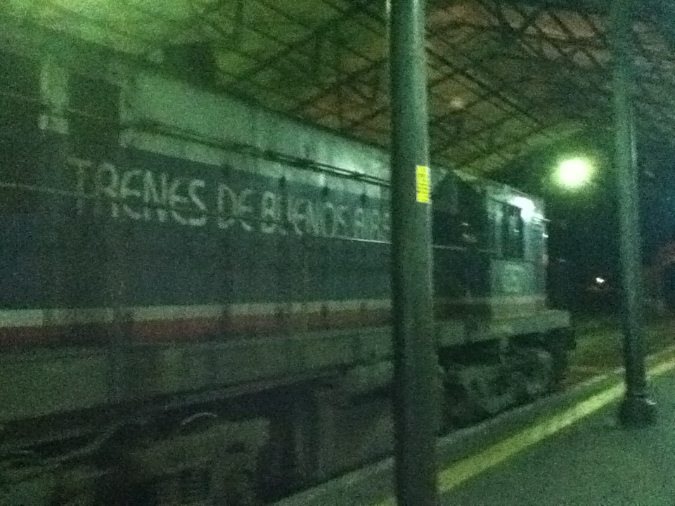 Un tren viejo a Bs As