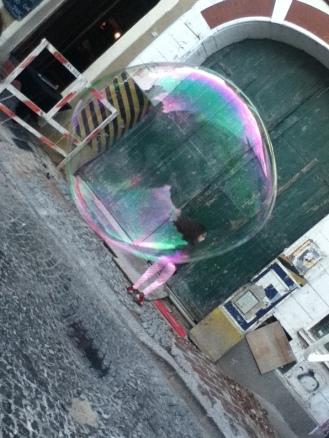 Burbujas por ahí (San Telmo).