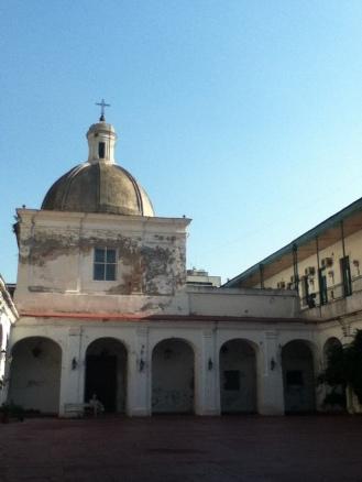 En este antiguo edificio se guarda la historia penitenciaria de Argentina.