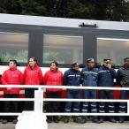 Tripulación de Tren Ecuador