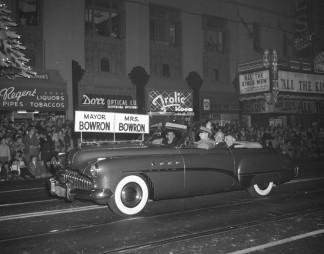 1949. Hollywood Christmas Parade