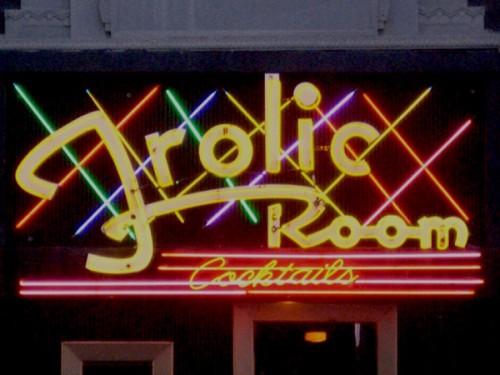 Frolic room.
